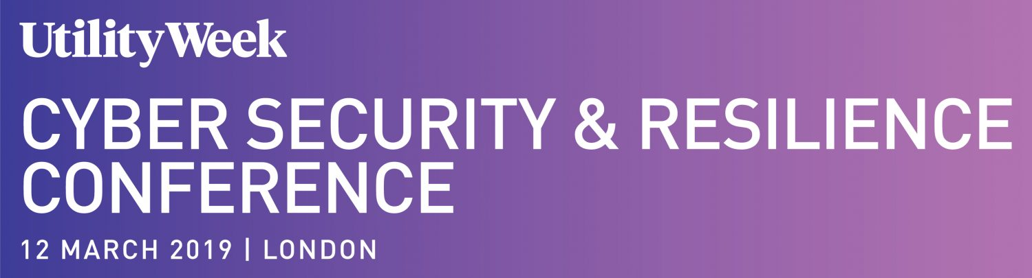 Utility Week Cyber Security & Resilience Conference - Future Water