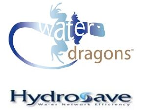 water dragons with sponsors hydrosave